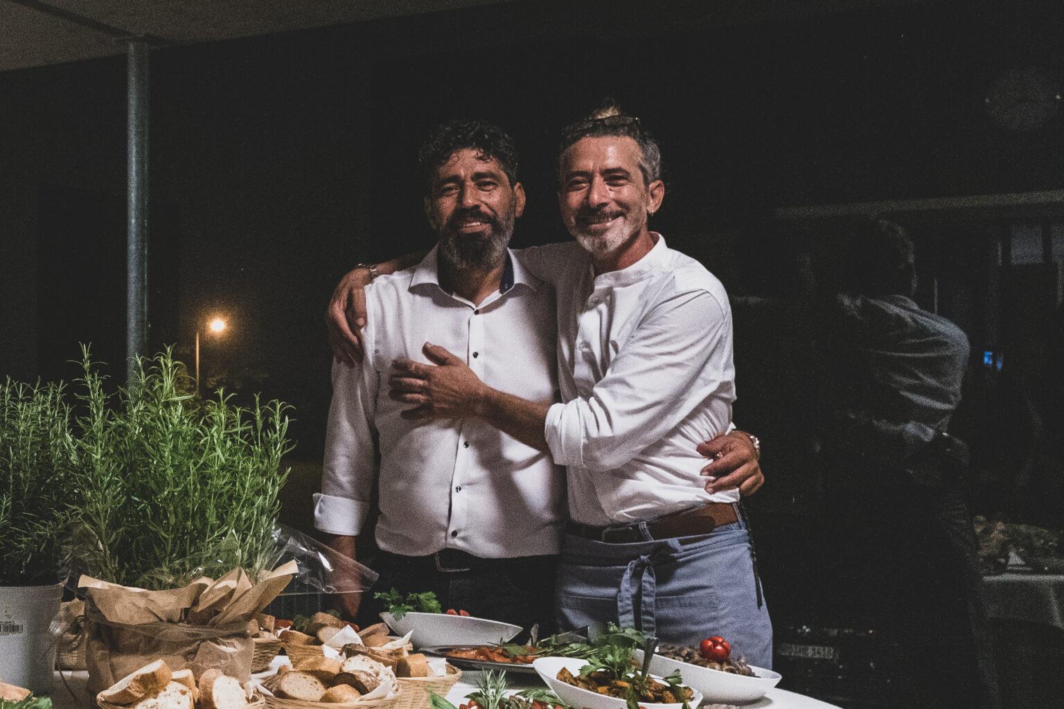 Brüder Enzo und Mimmo Truncellito